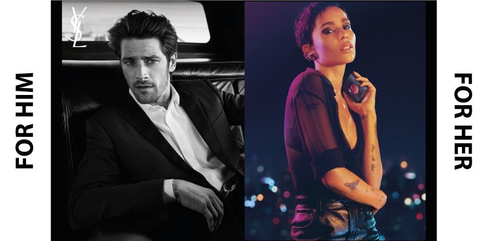 H&S Recommended Perfumes Of The Week- For Him- YSL LA NUIT DE L'HOMME EAU ÉLECTRIQUE EAU DE TOILETTE & For Her- YSL BLACK OPIUM EAU DE PARFUM