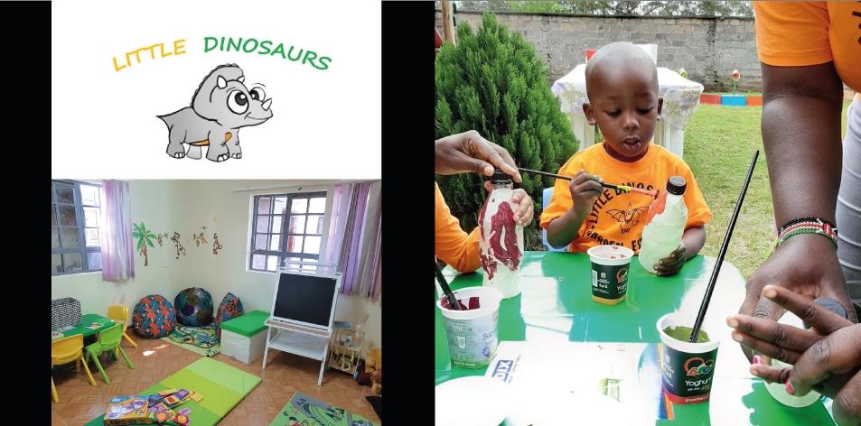Little Dinosaurs Kindergarten- The Perfect Preschool For Your Child- Located in Garden Estate Nairobi, Kenya