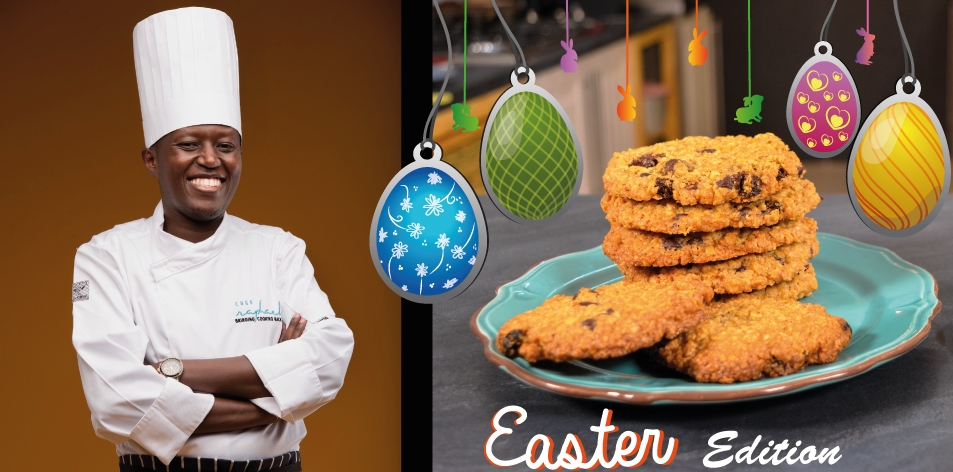 Oatmeal Raisin Cookies By Chef Raphael – H&S Easter Recipe Of The Week
