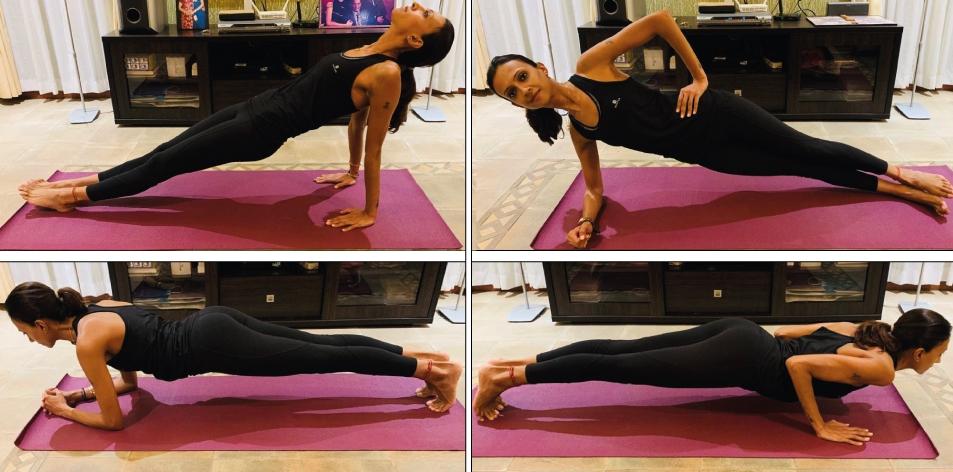 Yoga for strength building
