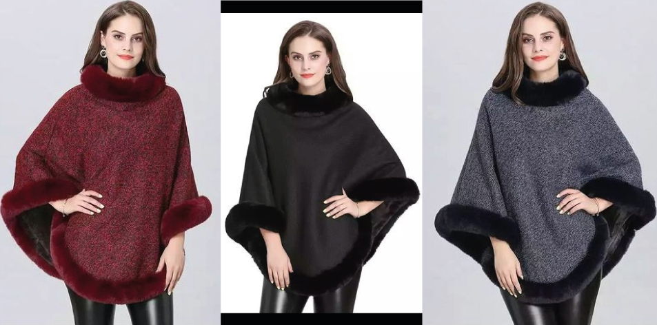 H&S Fashion Feature Of The Week- Winter Capes For Women