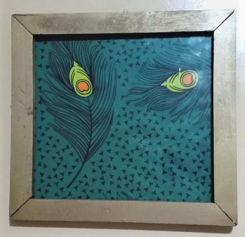 Custom-made Ankara Frames