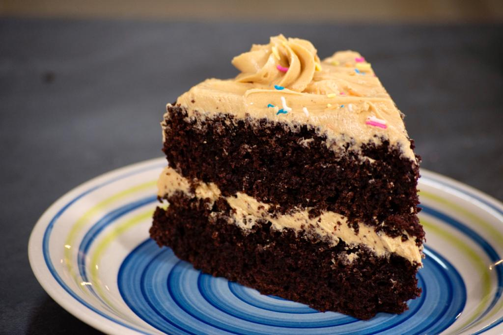 Chocolate Cake With Delicious Buttercream Frosting