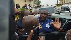 Cleophas Malala Getting Arrested in his Kitengela Home