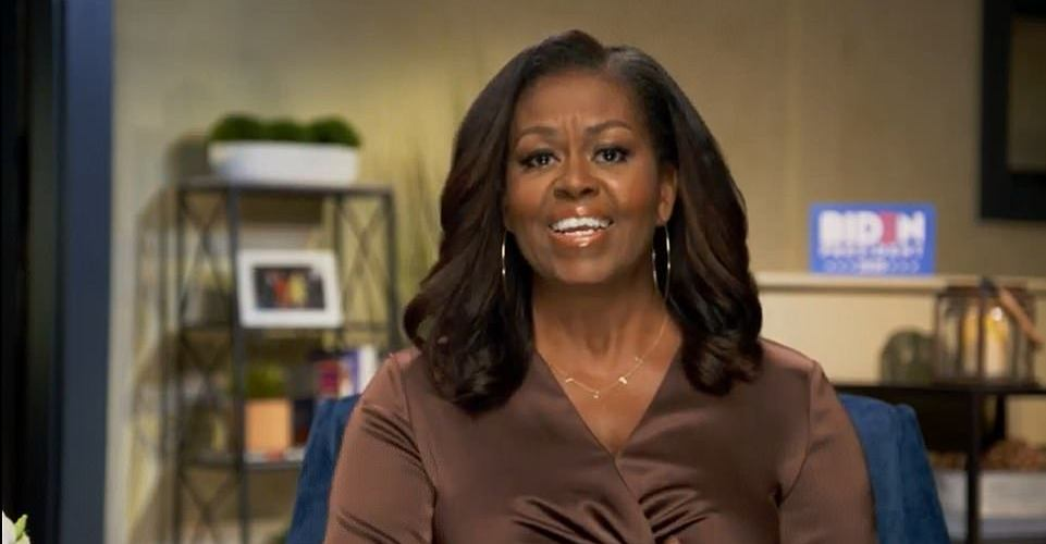 Michelle Obama is the keynote speaker for Monday night's Democratic National Convention; her speech was pretaped at the Obama family's Martha's Vineyard home