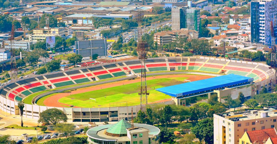 Nyayo National Stadium.