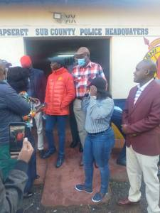 Kapseret MP Oscar Sudi surrenders to police in Eldoret, ending 48-hour standoff that saw a police officer injured and two others arrested.