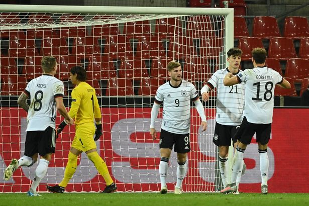 Chelsea duo Werner and Havertz scored for Germany