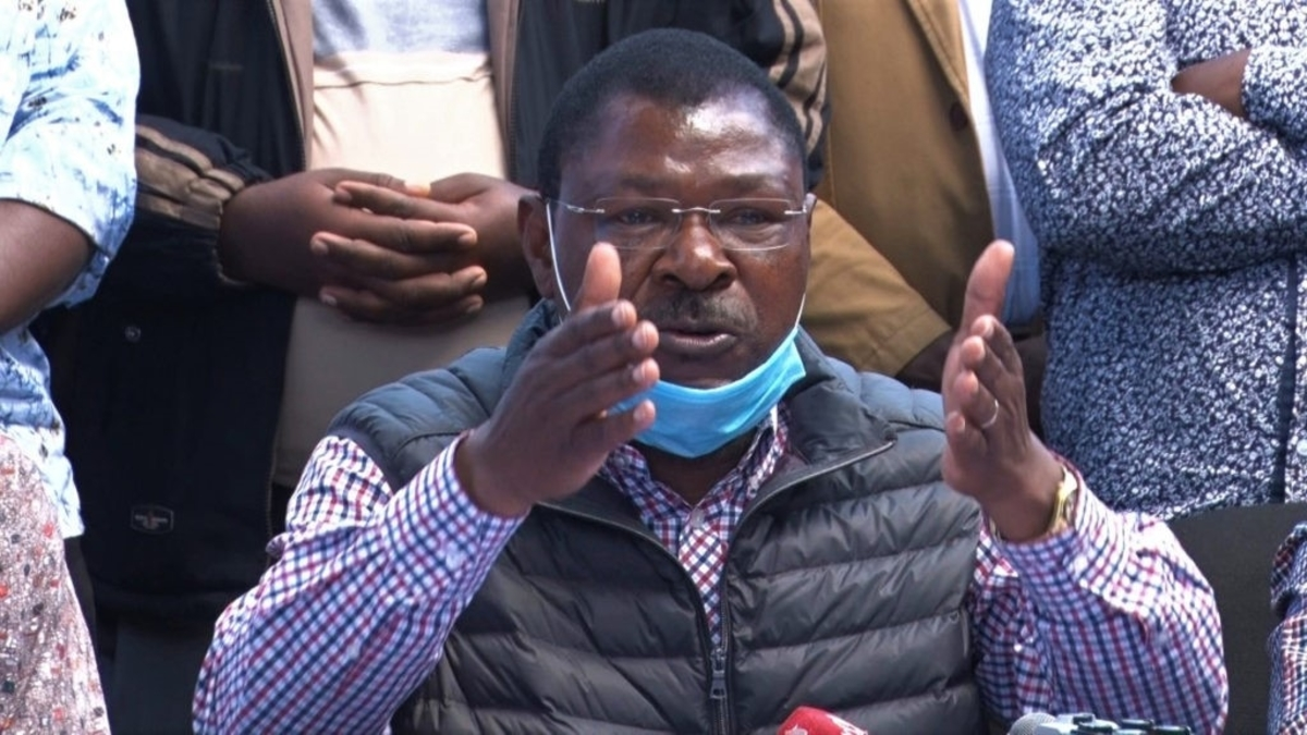 WETANGULA jumps ship and leaves UHURU and RAILA licking their wounds as he now supports RUTO on BBI   DAILY POST