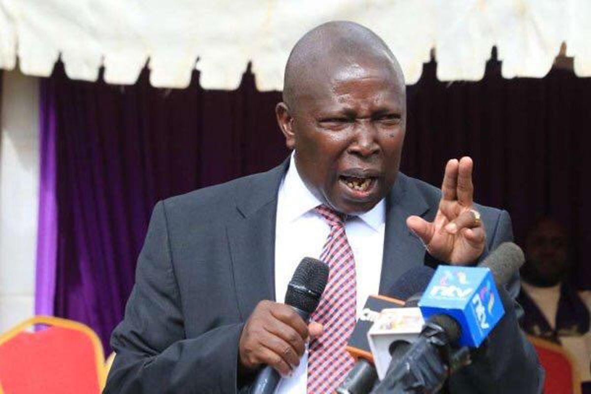 MAINA KAMANDA caught red-handed spitting vitriol on how Kikuyu community will betray RUTO in 2022 – (VIDEO)