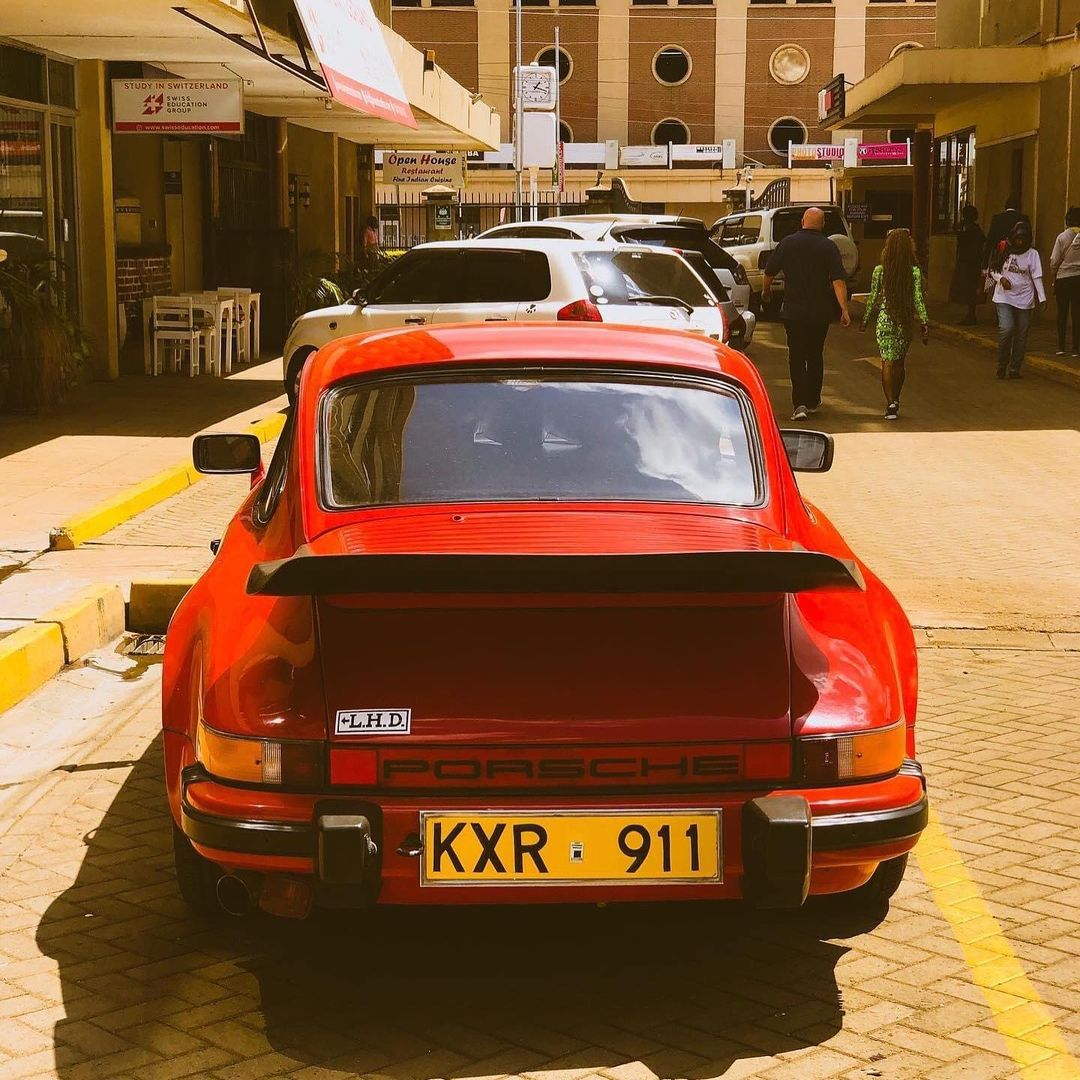 Lanes: A Kenyan owns this PORSCHE, this is a true gem (PHOTO)