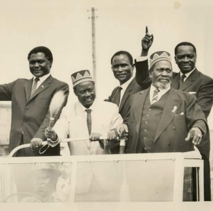 The men JOMO KENYATTA used to get to power and later betrayed them – Political betrayal in Kenya started a long time ago (PHOTO)