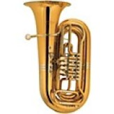 The Tuba music instrument