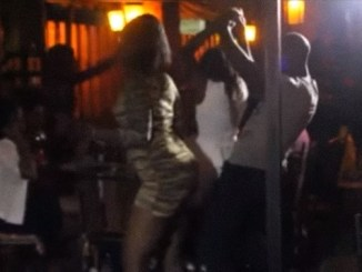 VIDEO: These University of Nairobi Students turned a Night Club to a lodging. They just did it on the dance-floor. SHOCK!