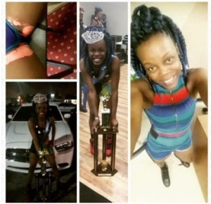 CRAZY VIDEO: This UON Lady lits up fire on her private Parts in a night club