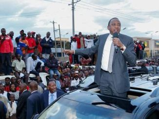 Video of Uhuru Kenyatta speaking in Kikuyu about Raila Odinga