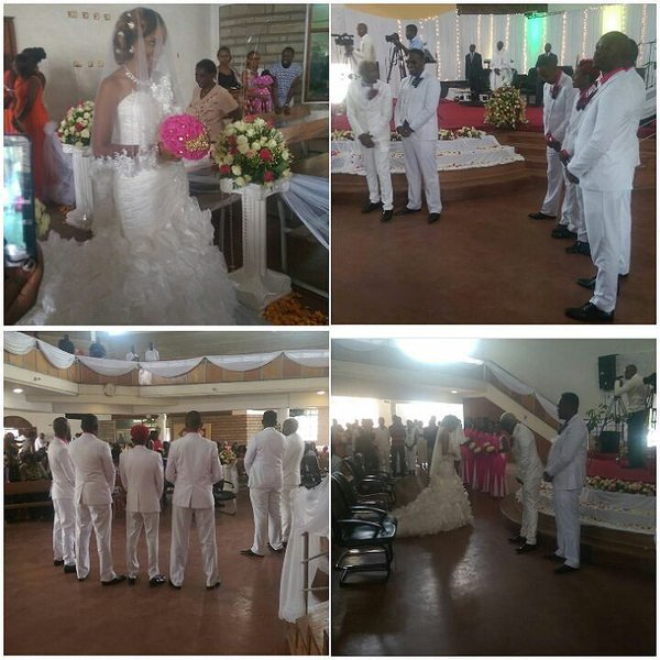Photos of Daddy Owen Wedding with his wife Farida Wambui