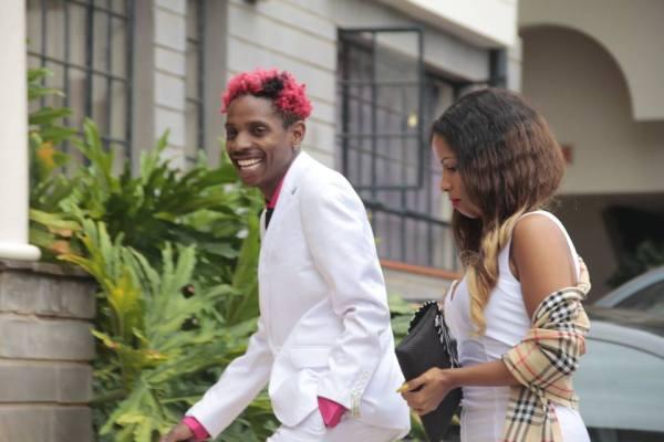 Photos of Daddy Owen Wedding with his wife Farida Wambui