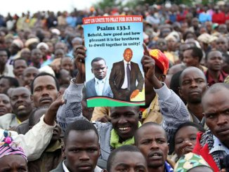 Eldoret residents celebrate william Ruto, Joshua sang ICC case Collapse