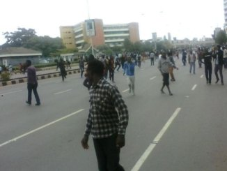 University of Nairobi students go on rampage after Babu Owino won SONU Student Elections