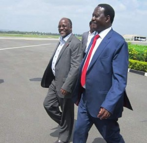 Why Raila Odinga Skipped Wetangula Presidential bid Launch at Muliro Gardens Kakamega