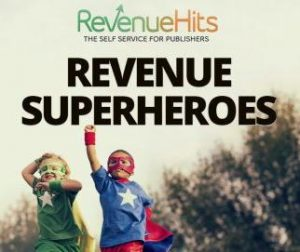 RevenueHits Ad codes flagged and banned by Google