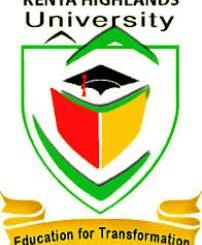 Kenya Highlands University Admission Requirements, Intake, Registration, Application Forms Download, Contacts, Location, Address, Graduation, Opening Date, Timetable, Fee Structure, Bank Account, KUCCPS Admission List, Letters Download, Courses Offered, Degree Courses, Diploma Courses, Postgraduate Diploma, Masters Programmes