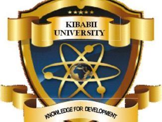 Kibabii University Student Portal