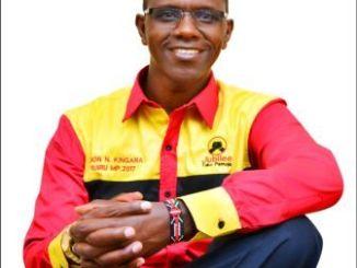 Simon Nganga Kingara Ruiru Constituency MP