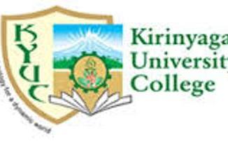 Kirinyaga University College Courses