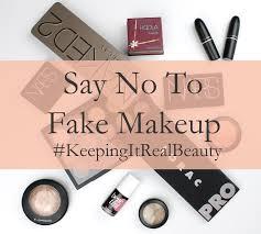 Fake cosmetics