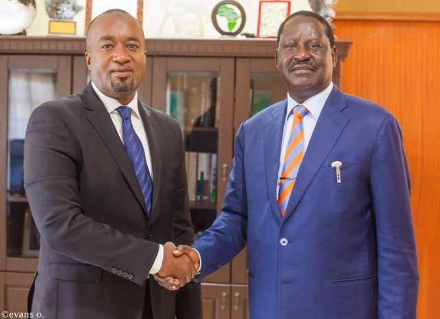 Raila Finally Unveils His Running Mate In The 2022 Presidential Contest