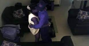 A Man In Mombasa Caught His Wife On Cctv Camera Having S3X With Their Gateman