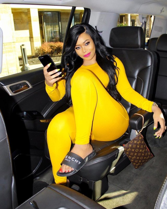 Vera Sidika addresses claims of falling off-stage while entertaining guests