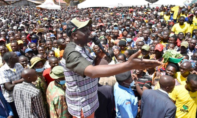 Without me, UHURU and RAILA will be nonentities today, I helped them get power and I'm going to use the same magic to deny them power come 2022 – RUTO swears