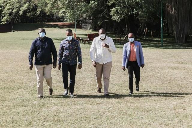 Shock as it emerges that UHURU is forcing JOHO, KINGI, and MVURYA to form a Coastal party against RAILA's advice – LOOK!
