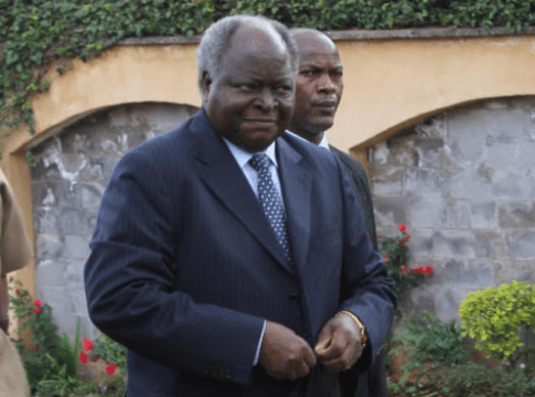 Kibaki is sick