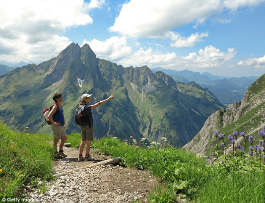 This way to fitness: You can shape up with a cardio-boosting break in the Alps