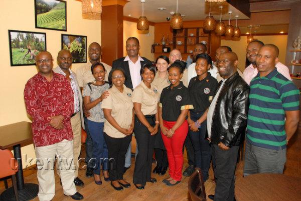 Speaker of national assembly launches Kenya coffee House. Photo | Ukentv.com