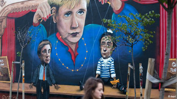 Merkel's austerity measures have been widely criticized in the recipient countries, such as Portugal