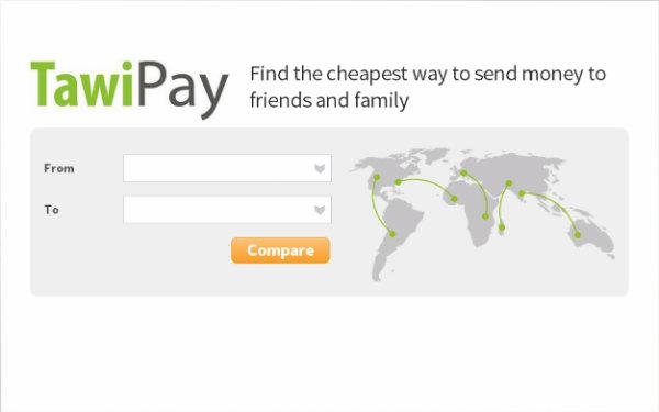 TawiPay homepage