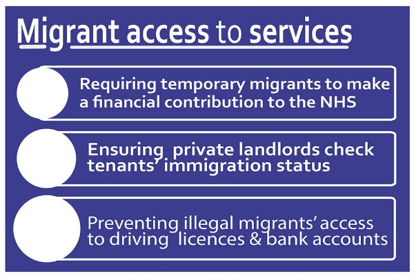 Migrant access to services