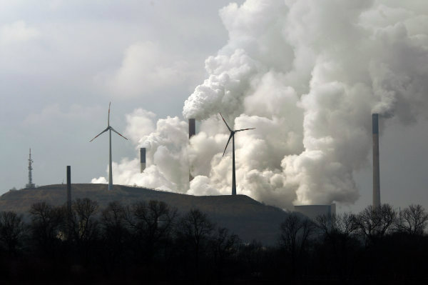 Wind and coal power go head-to-head in Germany.