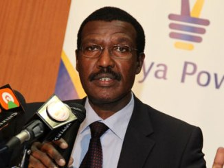 Outgoing CEO of Kenya Power Dr Ben Chumo