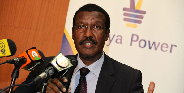 Outgoing CEO of Kenya Power Dr Ben Chumo