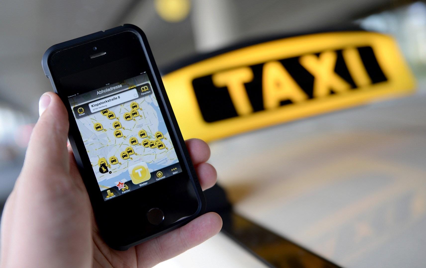 Taxi-Hailing-App