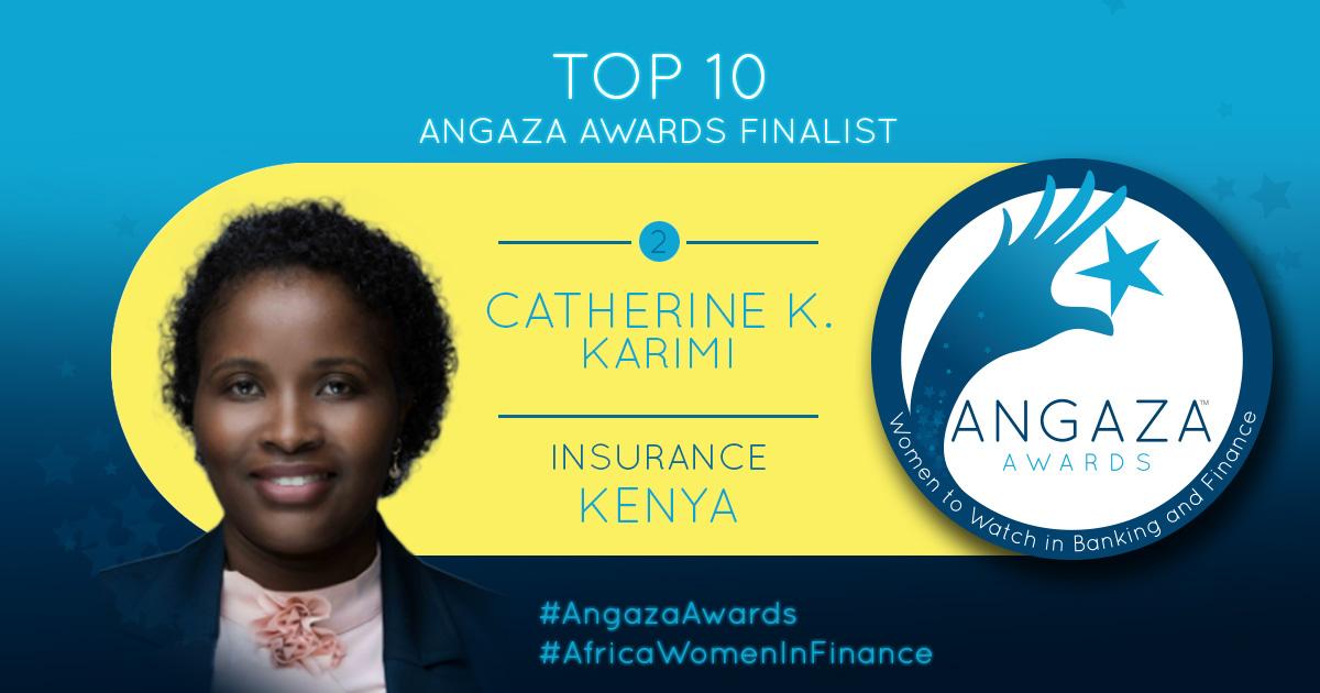 Angaza Awards Top 10 Finalist; Catherine Karimi