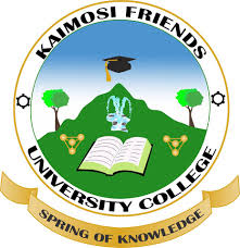 Kaimosi Friends University College Application Form