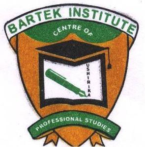 Bartek Institute Admission Letter