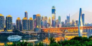 Chongqing one of the cities in China 2019.